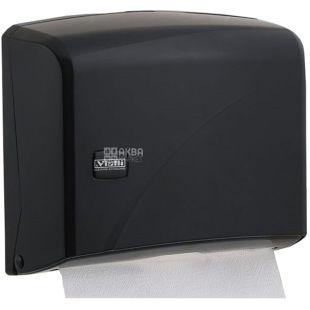 Vialli, Тримач паперових рушників Z- складання, чорний, 225 * 95 * 275 мм