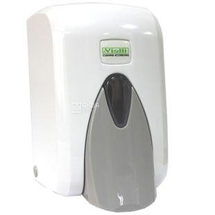 Vialli, Дозатор для мыла и шампуня, 105*129*170 мм, 500 мл