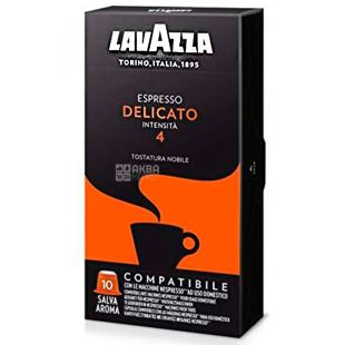 Lavazza Деликато, Кофе в капсулах, 10 шт.