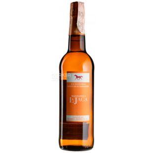 Bodegas Alvaro Domecq, Manzanilla La Jaca, Вино белое сухое, 0,75 л