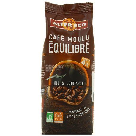 Alter Eco, Cafe moulu Equilibre, 250 г, Кофе Алтер Эко, Эквилибре, молотый, органический