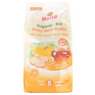 Holle Сухарики пшеничні дитячі органічні (з 8 місяців), 100 г