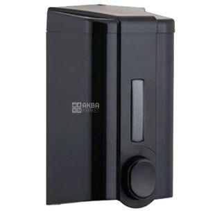 Vialli, Дозатор для мыла и шампуня, черный, 105*105*195 мм, 1000 мл
