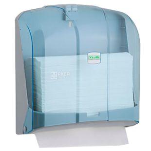 Vialli, Paper towel holder, V-folding, transparent, 270 * 130 * 270 mm
