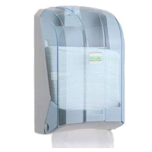Vialli, Держатель туалетной бумаги, прозрачный, 120*135*225 мм
