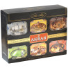Akbar Classic Collection, 60 pack pack, Gift tea set, assorted, Akbar Classic Collection