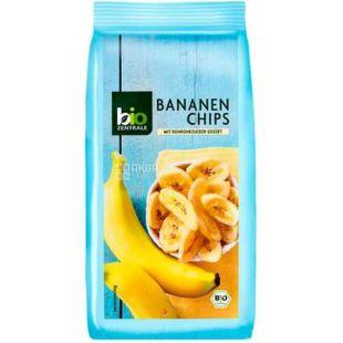 Bio Zentrale, Чипсы банановые, Органические, 150 г