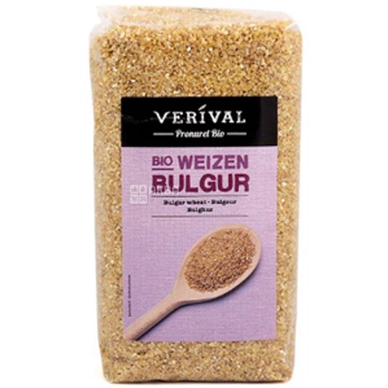 Verival, Bio bulgur weizen, 500 г, Веривал, Булгур органический