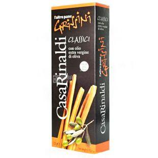 Casa Rinaldi, Хлебные палочки Grissini с оливковым маслом, 125 г