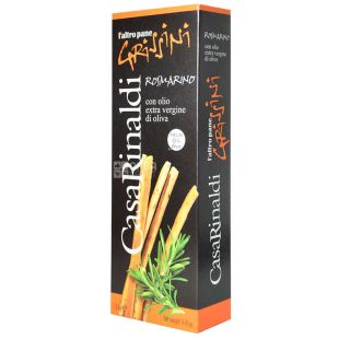 Casa Rinaldi, Grissini Breadsticks with Rosemary, 125 g