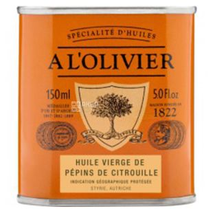 Le Petit Olivier, Масло кедрового горіха, 150 мл
