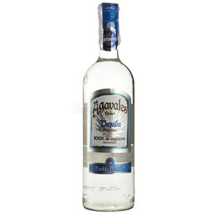 Tekila, Blanco, 1 l, TM Agavales