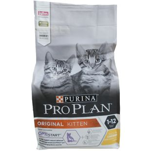 Pro Plan, 1.5 kg, kitten food, Junior, Chicken