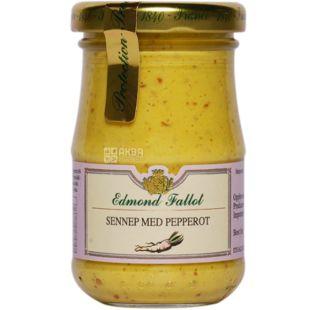 Edmond Fallot, Dijon Mustard with Horseradish, 105 g