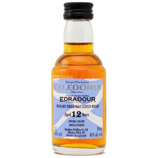 Edradour Caledonia, Виски 12yo, 0,05 л