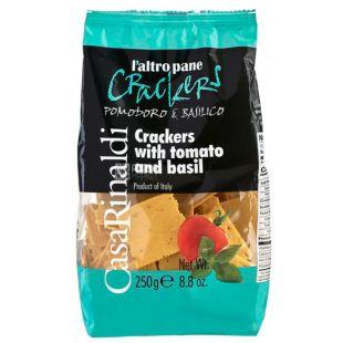 Casa Rinaldi, Cracker with Tomato and Basil, 250 g