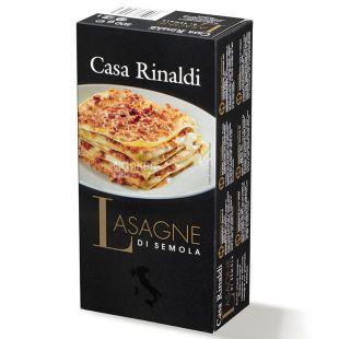 Casa Rinaldi Lasagne, 500 г, Листи для лазаньї Каса Рінальді