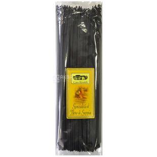 Casa Rinaldi, Spaghetti Nero di Seppia, 500 g, Spaghetti Casa Rinaldi Nero di Sepias, with cuttlefish ink