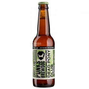 Brewdog Dead Pony, Пиво светлое нефильтрованное, 0,33 л