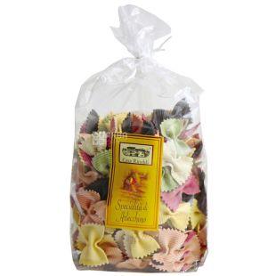 Casa Rinaldi, Farfalle Arlecchino, 500 g, Pasta Casa Rinaldi Farfalle Arlecino, multicolored