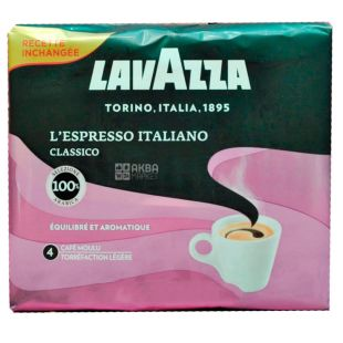 Lavazza L'Espresso Italiano 4, ground coffee, 500 g (2 pieces x 250 g)