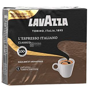 Lavazza L'Espresso Italiano 5, ground coffee, 500 g (2 pieces x 250 g)