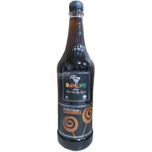 Barlife Caramel, Caramel Syrup, 1 L, pet