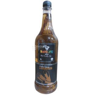 Barlife Cinnamon, Cinnamon Syrup, 1 L, pet