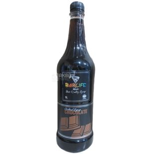 Barlife Chocolate, Chocolate Syrup, 1 L, pet