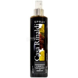Casa Rinaldi Aceto Balsamico di Modena, Balsamic Vinegar, Spray, 250 ml