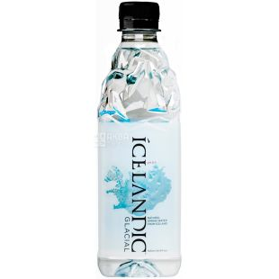 Icelandic Glacial, Non-carbonated mineral water, 0.5 L, PET, PAT