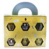 Medic Teddy Bear, Gift Set, Honeycomb, 6x50 g