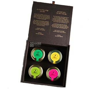 Medic-Bear, Gift set Honey memories, 4x250 g
