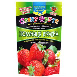 Crazy Фрутс, Клубника вяленая, 35 г