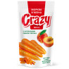 Crazy Fruts, dried carrots with natural peach juice, 75 g