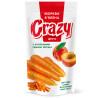Crazy Фрутс, Морква в'ялена з натуральним соком персика, 75 г