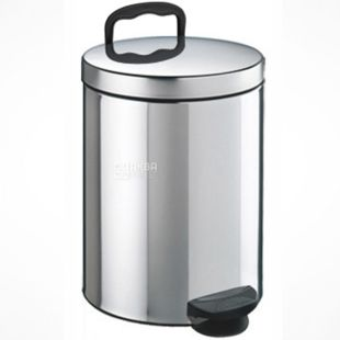 Atma, Trashcan with stainless steel pedal, 5 L