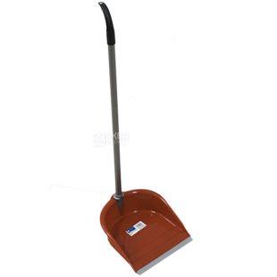 Атма Kiwi 8103, Cовок для прибирання Ківі, з довгим руків'ям, асорті, пластик, гума, метал, 27х29х9 см