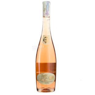 Cep d'or Rose, Saint Tropez Dry Rose Wine, 0.75 L