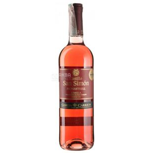 Garcia Carrion Castillo San Simon Rose Dry Rose Wine, 0.75 L