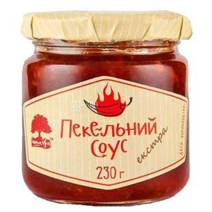 Інша Їжа Пекельний соус червоний екстра, 230 г