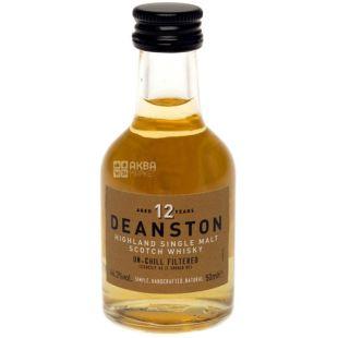 Deanston 12yo Whiskey Rice, 0,05 l