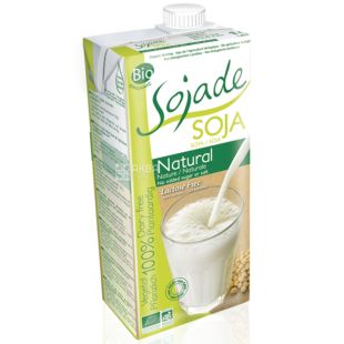 Sojade Напиток соевый органический, 1 л