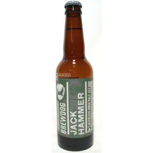 BrewDog Jack Hammer, Пиво светлое, 0,33 л