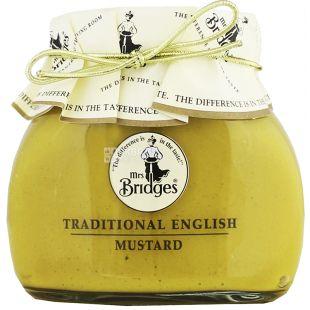 Mrs Bridges Traditional English Mustard, Горчица английская традиционная, 200 г