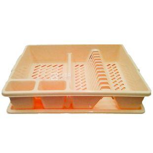 Сушилка для посуды, Пластик, ассорти