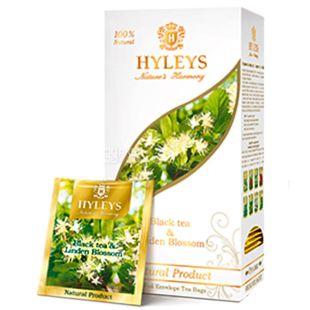 Hyleys Nature's Harmony, 25 пак, Чай черный Хэйлис Гармония Природы, Липа