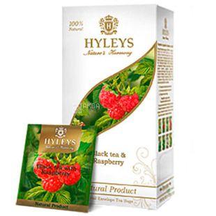 Hyleys Nature's Harmony, 25 пак, Чай черный Хэйлис Гармония Природы, Малина