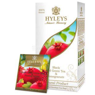 Hyleys Nature's Harmony, 25 пак, Чай черный Хэйлис Гармония Природы, Гранат