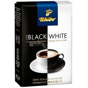 Tchibo Black'n White, 250 г, Кофе Чибо Блек эн Вайт, средней обжарки, молотый